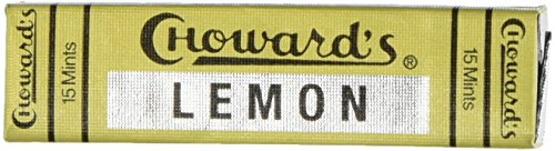 C Howard's Lemon Mints - 15 count (Pack of 24)
