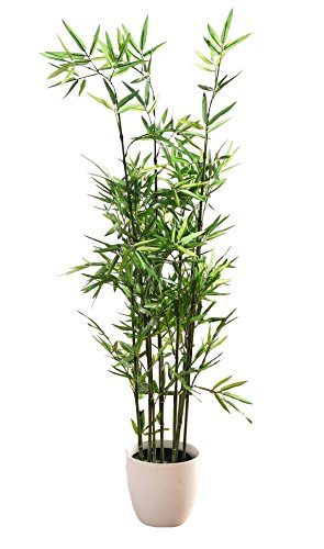 Ft 45 in faux bamboo plant lush artificial for Faux bambou plante