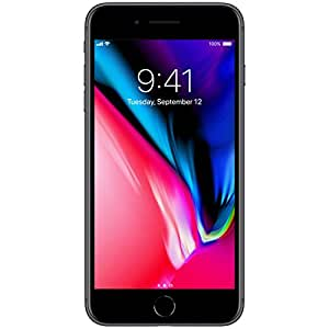 Apple iPhone 8 Plus 256GB, AT&T, Space Gray (Certified Refurbished)
