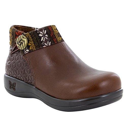 Alegria Womens Sitka Rain Boot Snowflake Choco Size 36 EU (6-6.5 M US Women)