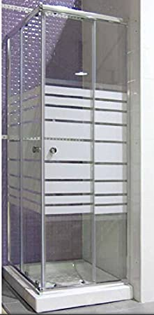 Mampara de ducha 70 cm x 180 x 100 h: Amazon.es: Hogar