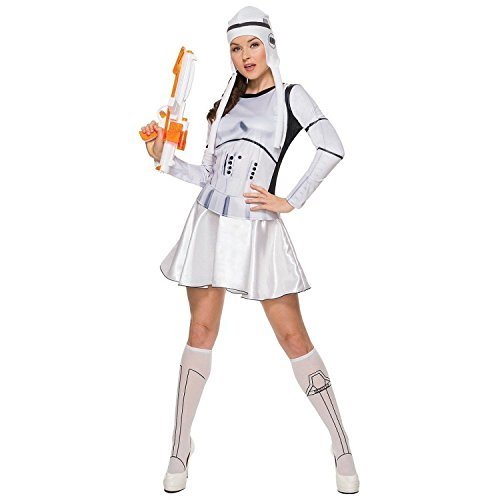 Unbranded Adult Woman 5pc Star Wars Stormtrooper Sexy Costume M Halloween Dress -