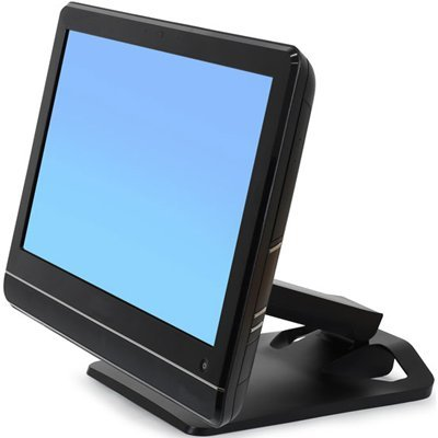 Ergotron Neo-Flex Display Stand - Up to 27'' Screen Support - 23.70 lb Load Capacity - Black