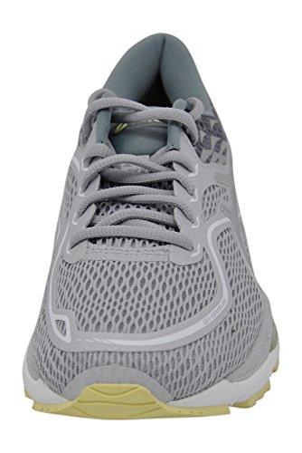 Women's Silver Lime US B Running 9 Gel 19 ASICS Cumulus Shoe Grey M Ffqgxn0wd