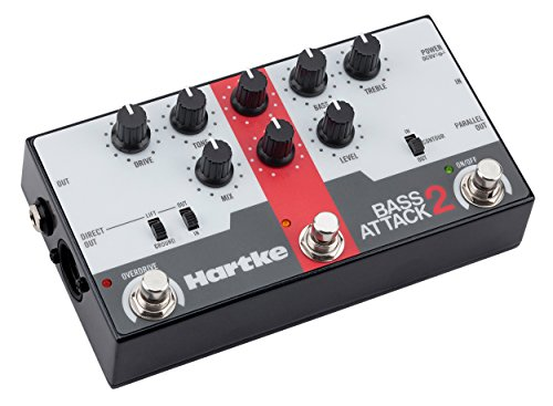 Hartke Bass Attack 2 Bass Preamp Direct Box with Overdrive by Hartke