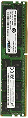 Crucial CT16G4RFD4213 16GB Single DDR4 2133 MT/s (PC4-2133) CL15 DR x4 ECC Registered DIMM 288-Pin Server Memory