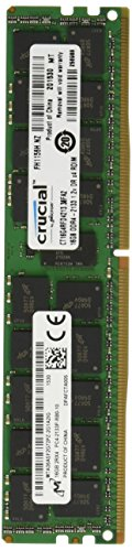 Crucial CT16G4RFD4213 16GB Single DDR4 2133 MT/s (PC4-2133) CL15 DR x4 ECC Registered DIMM 288-Pin Server Memory by Crucial