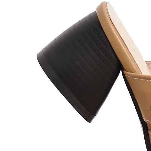 5 Sandales EYR00264 Aimint Abricot Femme 36 Compensées Beige U0qwqZ