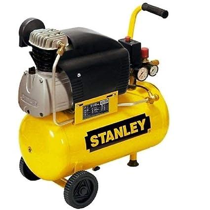 Stanley D 210/8/24 - Compresor de 24 l y funcionamiento con aceite