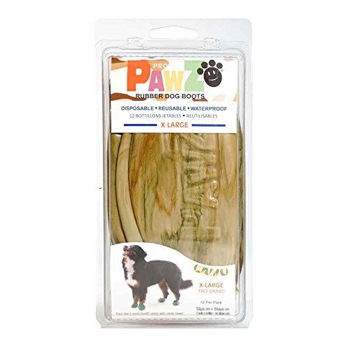 Pawz Dog Boots PZCMXL Up to 5