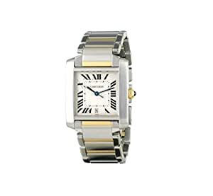 Cartier Tank Francaise swiss-automatic mens Watch 2302 (Certified Pre-owned)
