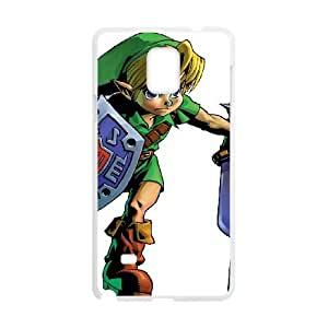 the legend of zelda twilight princess Samsung Galaxy Note 4 Cell Phone Case White yyfD-395626