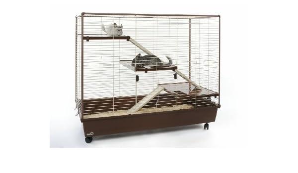 MAVERIK 2 Extra Grande Jaula para ratas los hurones y chinchillas ...