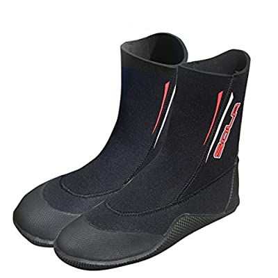 Amazon.com : Sola 5 mm Pull-On Neoprene Boots : Clothing