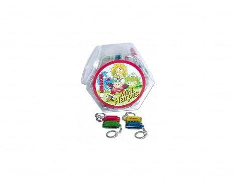 Llavero Hohner pequeño, de colores, con arpa: Amazon.es ...