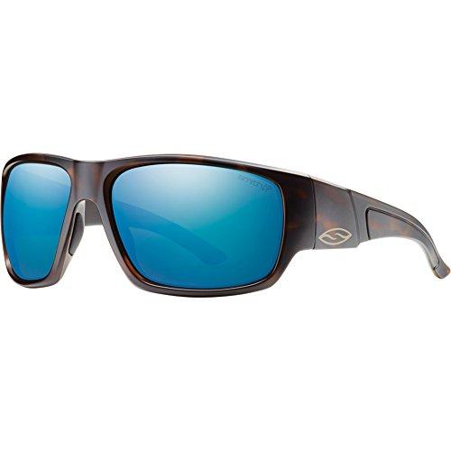 Smith Optics Dragstrip Lifestyle Polarized Sunglasses, Matte Tortoise/Chromapop Blue ()