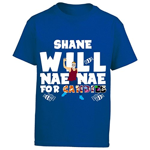 Shane Will Nae Nae For Candies Halloween - Kids T Shirt Kids Xl (Shane Halloween Candy)