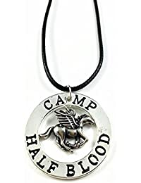 the Last Olympian Camp Pegasus Zeus Half-Blood Percy Jackson Necklace