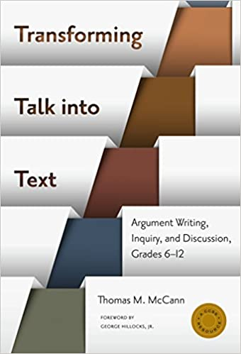 Amazon transforming talk into textargument writing inquiry amazon transforming talk into textargument writing inquiry and discussion grades 6 12 language and literacy series 9780807755884 thomas m fandeluxe Images