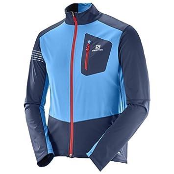 Salomon RS Softshell JKT M - Chaqueta, Hombre, Azul - (Dress Blue/Hawaiian Surf): Amazon.es: Deportes y aire libre