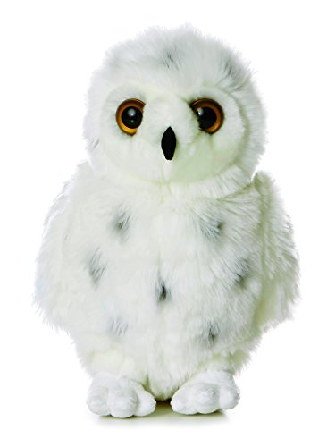 Aurora World Flopsie Plush Snowy Owl, 12