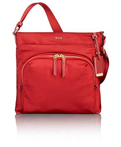Tumi Women's Voyageur Capri Crossbody Travel Tote, Crimson, One Size