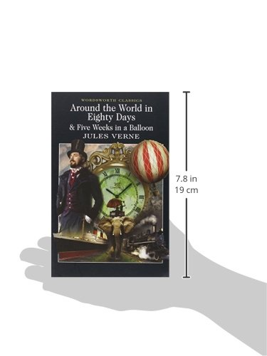 Around The World In Eighty Days 5 Weeks In A Balloon Wordsworth