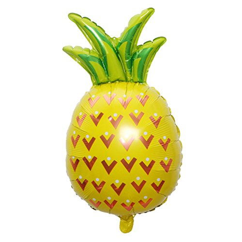 TOYMYTOY 32 Inch Giant Pineapple Fruit Balloons Foil Balloons for Newborn Birthday Party
