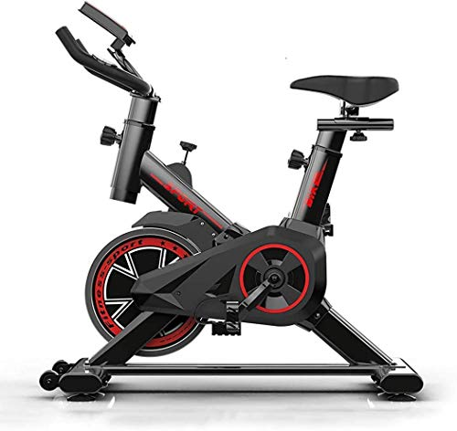 FORIDE Indoor Cycling Bike Exercise Bike Folding Magnetic Silent Belt Drive Upright Bicycle Exerciser Bike Cycle Trainer…