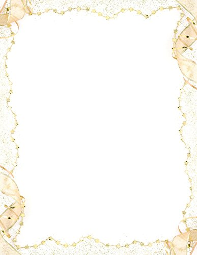 Great Papers! Gold Party Letterhead, 80 Count, 8.5