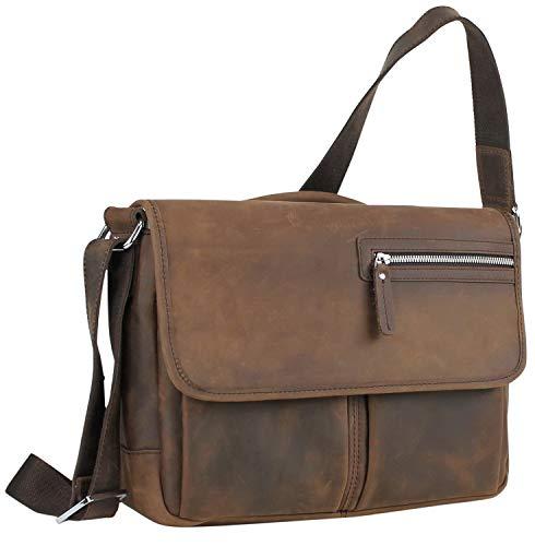 Grain Traveler Leather Case Top - Vintage Full Grain Leather 14