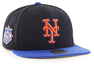 47 Brand New York Mets Two-Toned Sure Shot Mens Snapback Hat