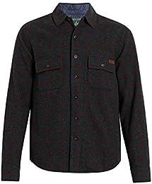 Men Bering Wool Plaid Shirt