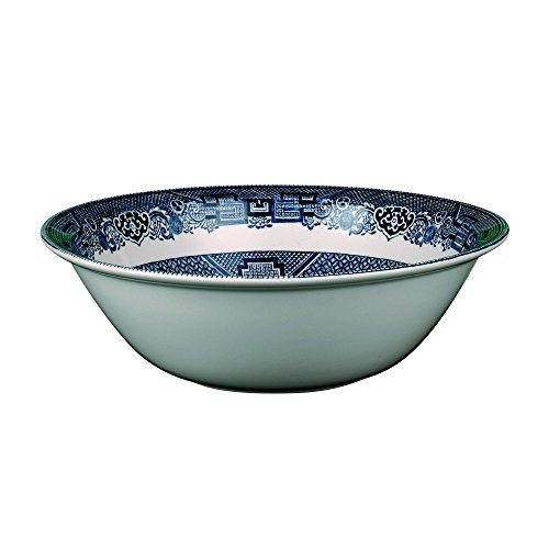 Johnson Brothers Willow Blue Dinnerware 6-Inch Soup/Cereal Bowls, Set of 6