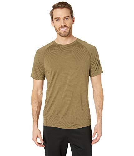 - SmartWool Men's Merino 150 Baselayer Pattern Short Sleeve Dark Desert Sand Medium