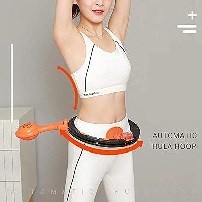 kaikai Hula Hoops LED Lights Smart Counting Detachable Hula Hoops ,Adjustable Beginners Thin Waist Weight Loss Fitness Training Sport Massage Equipment: Sports & Outdoors