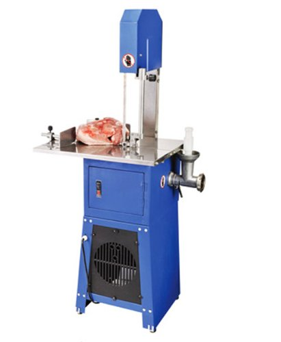 meat band saw with meat grinder - 7