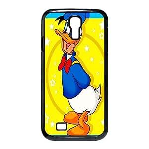 Samsung Galaxy S4 I9500 Phone Case Black Donald Duck WQ5RT7535799