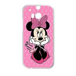 Minnie Mouse Cute Disney White HTC M8 case wangjiang maoyi