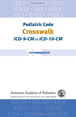 Read Online By Jeffrey F. Linzer MD FAAP Pediatric Code Crosswalk: ICD-9-CM to ICD-10-CM (Coding) (First Edition, None) [Spiral-bound] pdf