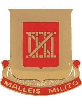 Amazon 62nd Engineer Battalion Unit Crest Malleis Milito