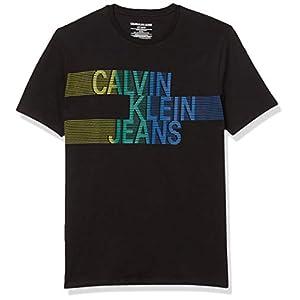 Best Epic Trends 415gl-mwgjL._SS300_ Calvin Klein Boys' Pop Up Logo Crew Neck Tee Shirt