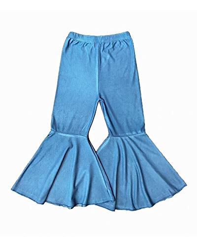 Castle Rose Boutique Soft Denim Bell Bottoms Light Blue (12-18 Months)