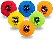 Franklin Sports NHL Foam Mini Hockey Balls, Assorted Colors