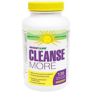 Amazon Com Renew Life Cleanse More Constipation