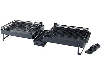 Portátil maletín de BBQ - Barbacoa, Parrilla fijo, Exterior ...