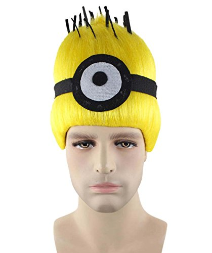 Halloween Party Online Wig for Cosplay Minions Carl Kids HM-333 -