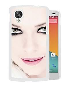 Beautiful Designed Cover Case With September Eyes Lips Earrings Light (2) For Google Nexus 5 Phone Case
