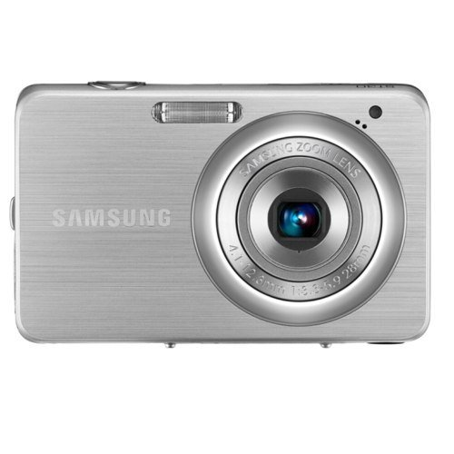 Samsung ST30 10.0 MP Digital Camera (Silver) (Renewed)