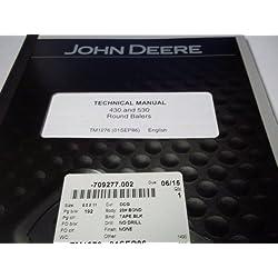 John Deere 430 & 530 Round Balers Technical Ma
